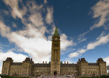 Parliament hill ottawa. Ontario, Canada Stock Photos