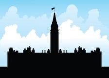 Parliament Hill, Ottawa Royalty Free Stock Photography