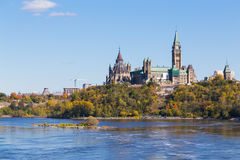 Parliament Hill from the West Stock Photo
