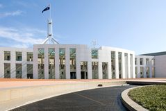 Parliament House Royalty Free Stock Photo