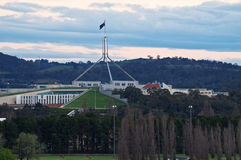 Parliament House Australia Stock Photo