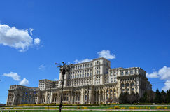 The Parliament House-Bucharest,Romania Royalty Free Stock Photo