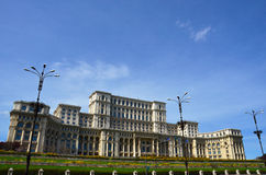 The Parliament House-Bucharest,Romania Stock Images
