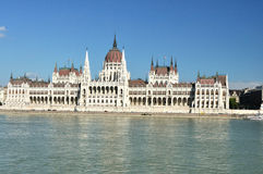 Parliament House in Budapest Royalty Free Stock Photos