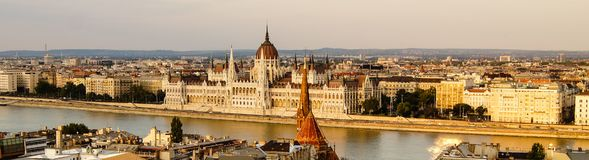 Parliament House in Budapest. Hungary royalty free stock photo