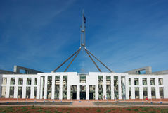 Parliament house Canberra royalty free stock images