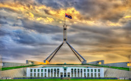 Parliament House in Canberra, Australia Stock Image