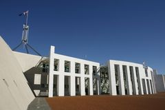Parliament House Canberra Royalty Free Stock Image