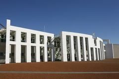Parliament House Canberra Royalty Free Stock Photo