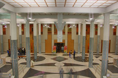 Parliament House Main Foyer, HDR Royalty Free Stock Image