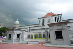 Parliament House and the Old Supreme Court stock photography