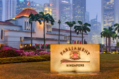 Parliament House of Singapore Royalty Free Stock Photography