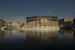 Parliament House in Stockholm Stock Photography