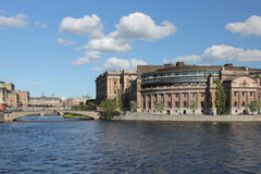 Parliament House, Stockholm royalty free stock photo