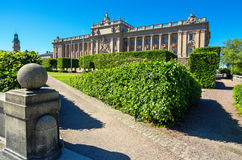 Parliament house. Stockholm, Sweden Stock Images