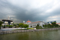 Parliament House and theSupreme Court (Old and New) Stock Photos