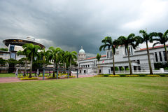 Parliament House and theSupreme Court (Old and New) Stock Photography