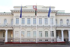 Parliament house in Vilnius, Lithuania Stock Photo
