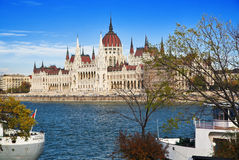 Parliament of Hungary. In Budapest Stock Images