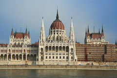 The Parliament of Hungary Royalty Free Stock Images