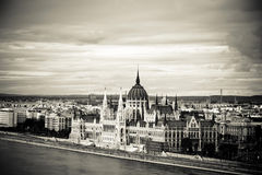 Parliament of Hungary, Budapest Royalty Free Stock Images