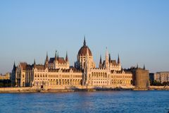 Parliament Hungary in Budapest Royalty Free Stock Photography