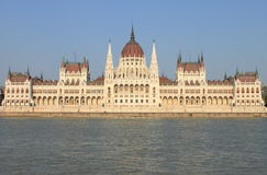 Parliament of Hungary in Budapest Stock Image