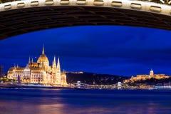 Parliament of Hungary Stock Image