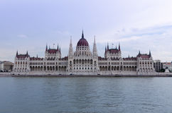 Parliament of Hungary. Building of hungarian parliament in Budapest Stock Photo