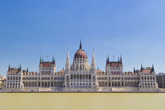 Parliament of Hungary Royalty Free Stock Photo