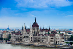 Parliament of Hungary Royalty Free Stock Photos