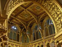 parliament-interior Royalty Free Stock Images