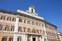 Parliament of Italy Royalty Free Stock Images
