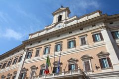 Parliament of Italy Royalty Free Stock Photo