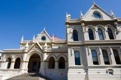 Wellington Parliament library Stock Photos