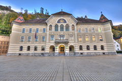 Parliament of Liechtenstein Royalty Free Stock Photos