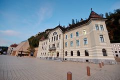 Parliament of Liechtenstein Stock Images