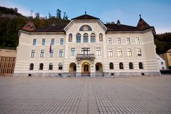 Parliament of Liechtenstein Royalty Free Stock Photo