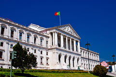Parliament of Lisbon Royalty Free Stock Photography