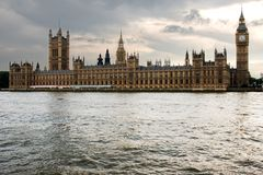Parliament of London stock photography