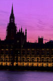 Parliament- London Royalty Free Stock Photo