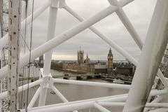 Parliament London Eye UK England Royalty Free Stock Image