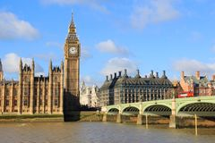 Parliament in London, Great Britain Royalty Free Stock Photos
