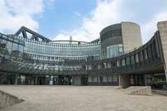 Parliament of Nordrhein-Westfalen in Duesseldorf Stock Photography