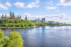 Parliament of Ottawa Royalty Free Stock Photography