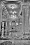 Parliament Palace. Inside the building of Parliament Palace in Bucharest Romania Stock Image