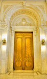 Parliament Palace. Inside the building of Parliament Palace in Bucharest Romania Stock Images