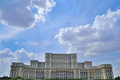 Parliament Palace. On A Blue Sky Royalty Free Stock Photo