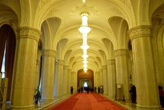 Parliament Palace. In Bucharest Romania Royalty Free Stock Images