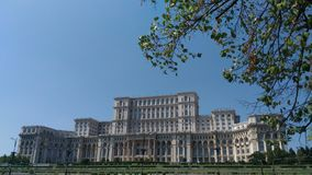 Parliament Palace. Bucharest Romenia architecture Royalty Free Stock Photography